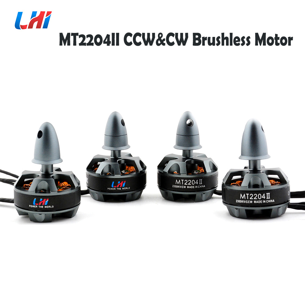 RC quadrocopter frame 4pcs LHI 2204 2300KV CW & CCW Brushless Motor For dron quadrocopter quadcopter helicopter