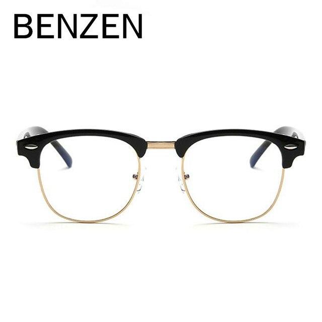 Бензола анти Синие лучи Compputer очки для мужчин женщин Винтаж для компьютера Рабочая ТВ очки для геймеров с случае 5080