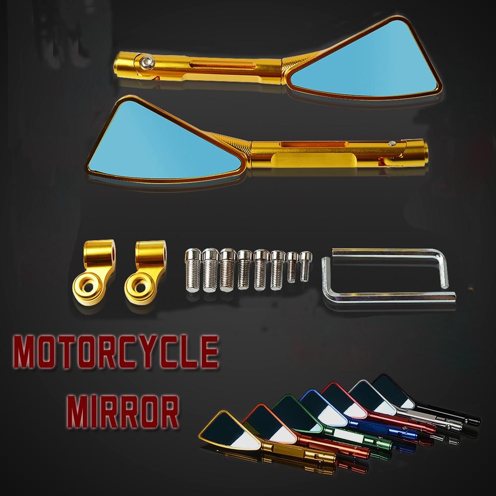 CNC rétroviseur moto rcycle accessoires moto rétroviseur latéral universel pour Yamaha YZF R1 R6 t-max 500 530 MT-01 07 09