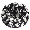 Elefante infinito de la bufanda mujeres animal del invierno marca sjaals fulares collar del algodón echarpes foulards femme bufandas mujer 2015