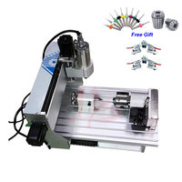 CNC Router 4 Axis 1.5KW 0.8KW Metal Cutting Milling Machine CNC Cutter 3040