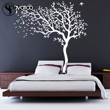Large Tree Leaves Living Room Bedroom Vinyl Wall Sticker Decal Kids Baby Home Decor