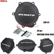 Motorcycle Clutch Cover Protector Cover Fit For crf 250r CRF250R 2010-2016 2011 2012 2013 2014 2015 clutch cover protection cover water pump cover protector for ktm 350 exc f excf 2012 2013 2014 2015 2016