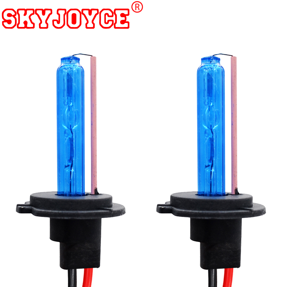 SKYJOYCE 35 W 55 W AC HID Xenon Ampoules H11 H1 HB3 HB4 Xenon H7 Bleu Profond 30000 k H4 Jaune Rose Violet Vert 4300 K-10000 K H27 Xénon