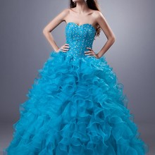 cecelle Turquoise Ball Gown Quinceanera Dresses 2019