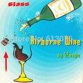 Airborne Vino (vidrio y Truco)-truco de Magia, truco de magia, magia de escenario, 2014 nuevo truco de magia