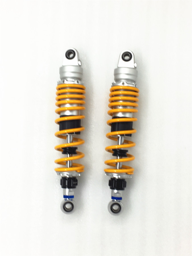 Universal 320mm 330mm 340mm 350mm 360mm motorcycle Rear Adjust damping shock absorber For Honda Yamaha Kawasaki