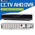 1080N Completa AHD DVR de 16 Canales en tiempo Real de Reproducción Grabación Con 5MP HDMI 16Ch 960 P 4Ch NVR Híbrido Onvif CCTV Grabador DVR NVR