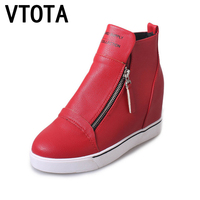 VTOTA Heel Shoes Woman 2017 Wedges Platform Shoes Women Sneakers Autumn Spring Shoes Zapatillas Mujer
