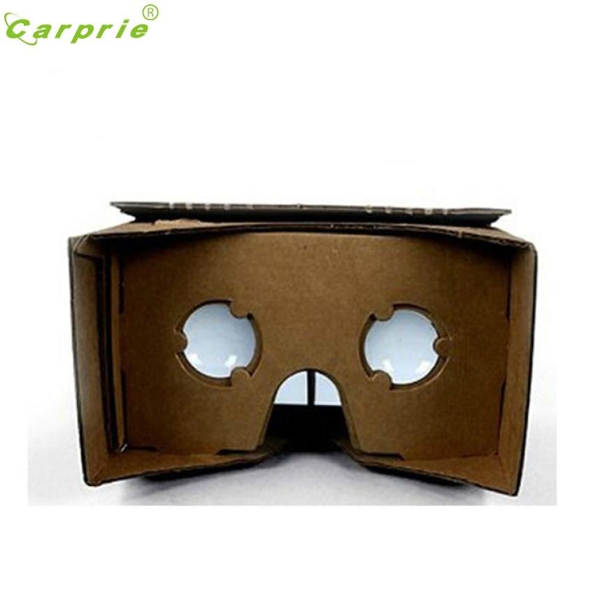De calidad superior diy calidad del cartón 3d vr gafas de realidad virtual para