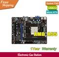 Оригинал MSI Рабочего Материнской Платы AMD A55 Гнездо FM2 DDR3 PCI-E 2.0 SATA II USB VGA HDMI Micro ATX