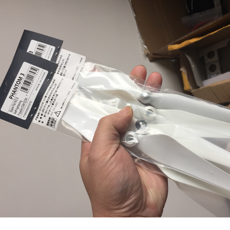 2Pairs 4PCS 100% Original Phantom 3 SE/Professional Advanced/Standard Self-tightening Propellers 9450 blade blades(China)