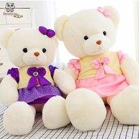 BOLAFYNIA Children Plush Stuffed Toy Teddy Bear Doll Baby Kids Toy For Christmas Birthday Gift