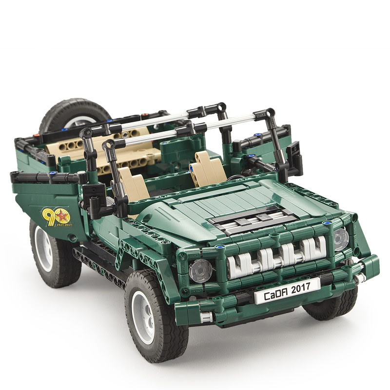561Pcs Game Weapon Gift RC Jeep Truck Car Model Building kits Blocks Toys For Children compatible