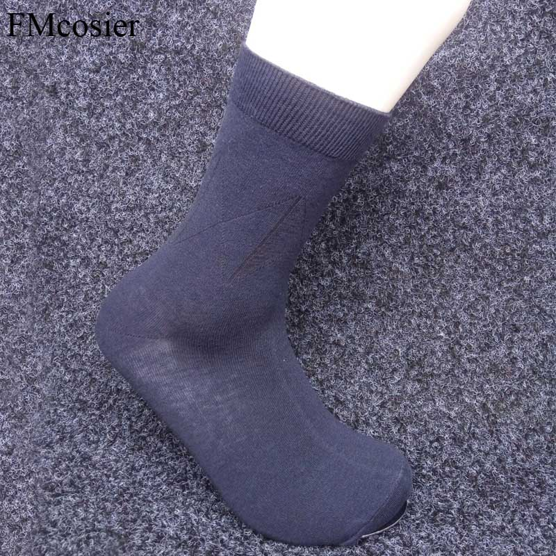10 Pairs 2018 Spring Summer Autumn Mens Dress Socks Business Classic Crew Socks for Men Big Size Plus Size White Black New 44 46