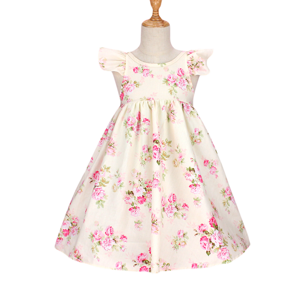 2018 new baby girl clothes summer children cheap cotton floral lace dresses vestidos nina kids costume princess dress party baby girls princess dress brand summer style flower girl wedding dresses for party kids clothes children floral costume vestidos