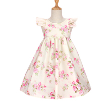 2018 new baby girl clothes summer children cheap cotton floral lace dresses vestidos nina kids costume princess dress party cotton lace girl dress kids 2017 summer new embroidered children clothes white lace princess korean cute thin dress size 100 140