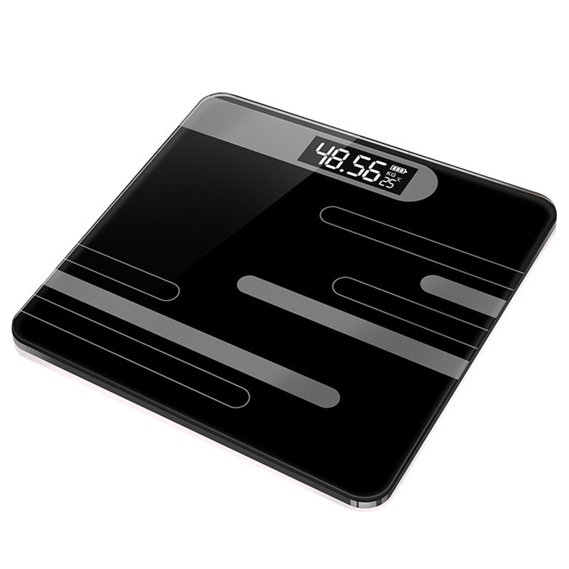Bathroom Body Scales Glass Smart Household Electronic Digital Floor Weight Balance Bariatric Lcd Display Home Accessories(China)
