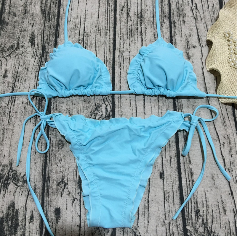 Floral print bikinis 2018 new swimwear women swimsuit beach bathing suit maillot de bain femme biquini sexy brazilian bikini set