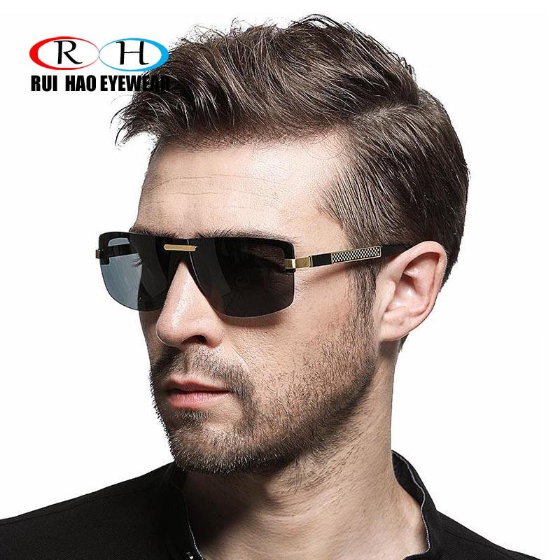 RUI HAO gafas de sol hombres mujeres gafas de sol polarizadas de ...