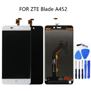 Image 1 - 5,0 zoll Für zte blade X3 D2 T620 A452 LCD DISPLAY Touchscreen digitizer komponente für zte blade X3 Lcd ZUBEHÖR telefon Teile