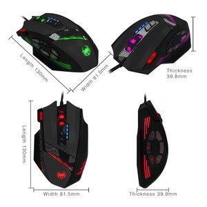 Image 4 - 12 chiave di programmazione mouse Jedi di sopravvivenza pistola senza sedile posteriore macro 4000dpi gaming mouse mouse wired mouse da gioco Con ponderata peso