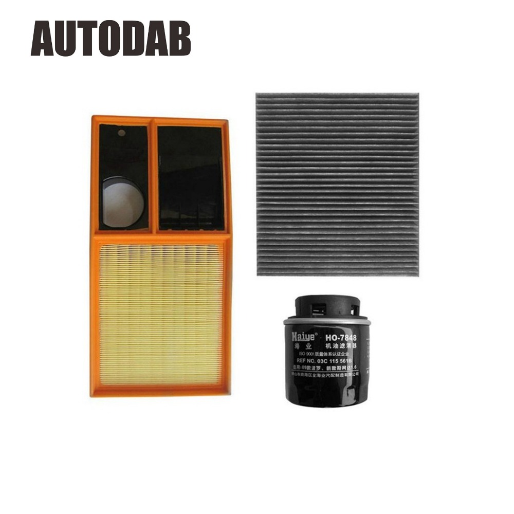 High Quality filters for VW POLO Fabia 1 4L 1 6L air filter oil filter cabin