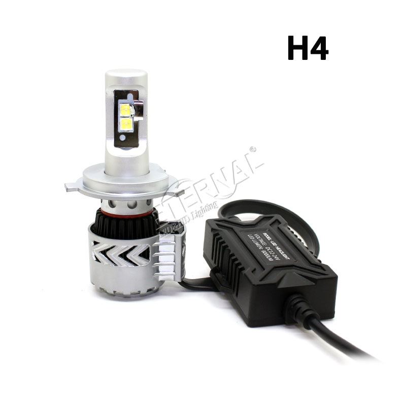 free ship 12000lm XHP50 LED headlight bulb kit H1 H3 H7 H8 H9 H10 H11 H16 9005 9006 9012 H4 H13 9004 9007 auto car fog headlamp in Car Headlight Bulbs LED from Automobiles Motorcycles
