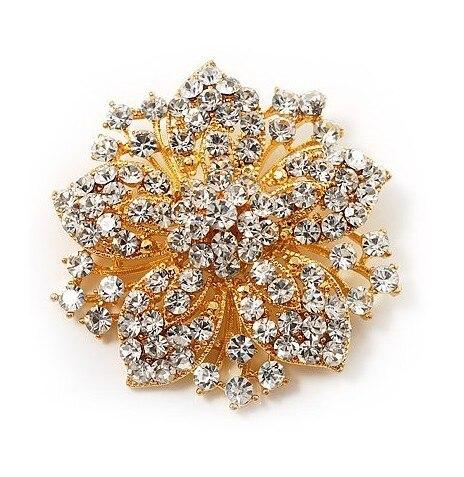 2,2 дюймов винтажная Серебряная черная Хрустальная Морская звезда, брошь для вечеринки, выпускного, ювелирные изделия, подарки - Окраска металла: 4