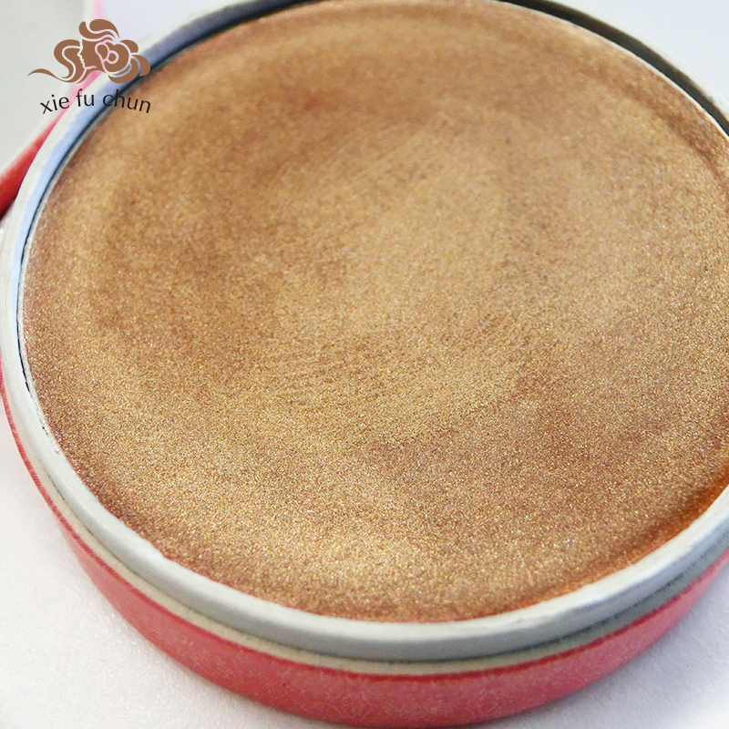 Xiefuchun Chinese Traditional Metallic Eye Shadow Gift Bronze Golden - Makeup - Photo 2