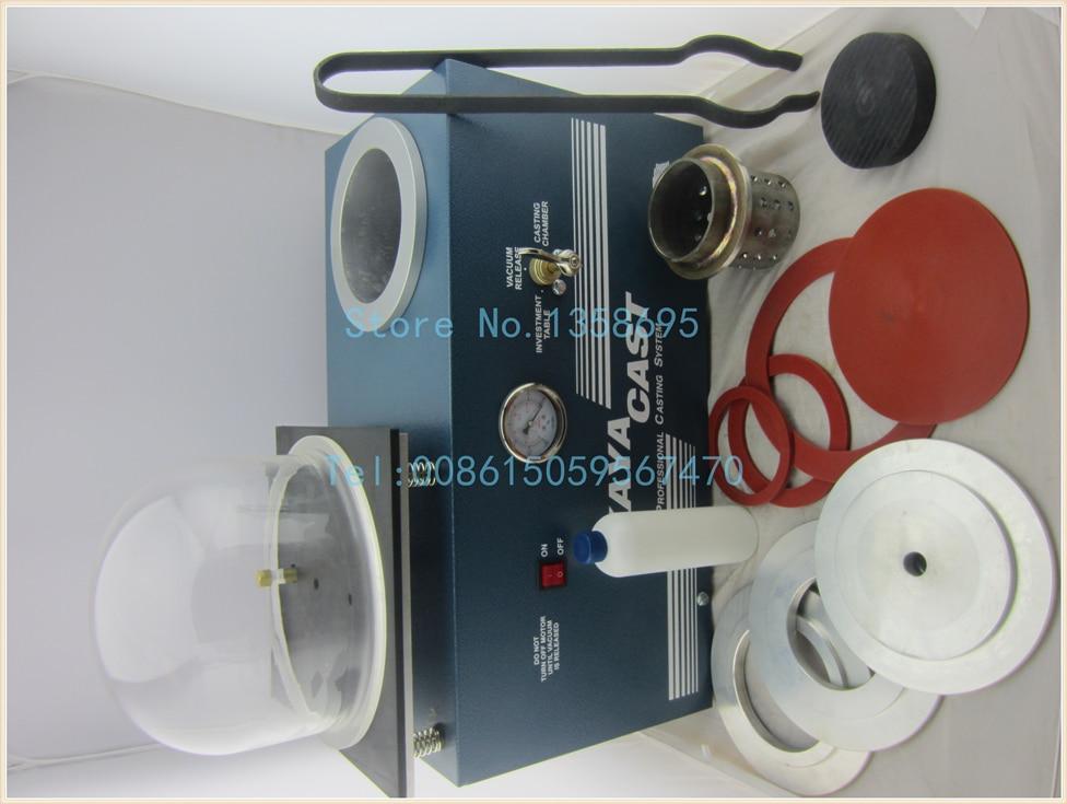 Promotion Mini Vacuum Investing Casting Machine Jewelry Lost Wax