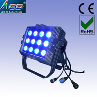 wholesale 12*15w 5in1 rgbwa outdoor flood light IP65 LED waterproof ip65 square wall washer lamp lights 220V 240V