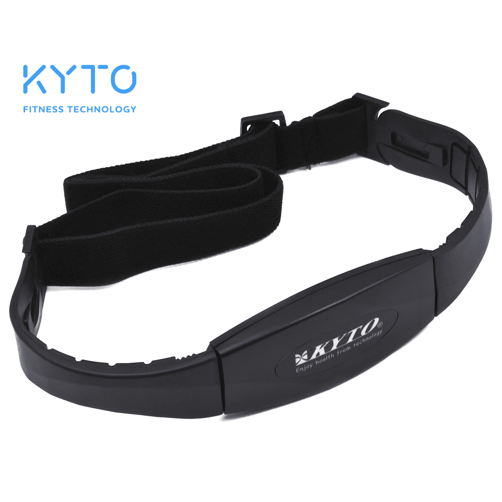 KYTO 5.3KHZ Heart Rate Transmitter Chest Strap Belt Smart Digital Counter Fitness Tool Sport Exercise Tool