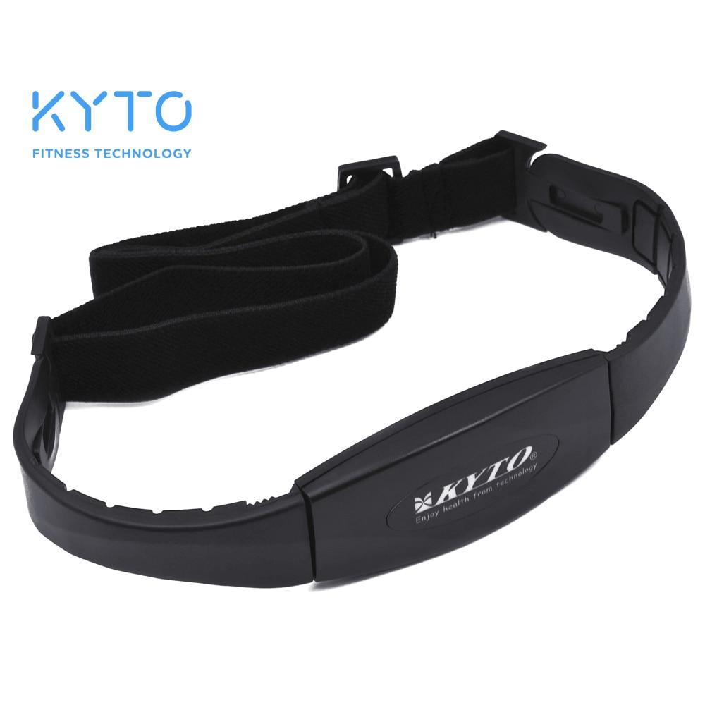 KYTO 5.3KHZ Heart Rate Transmitter Chest Strap Belt Smart Digital Counter Fitness Tool Sport Exercise Tool цена
