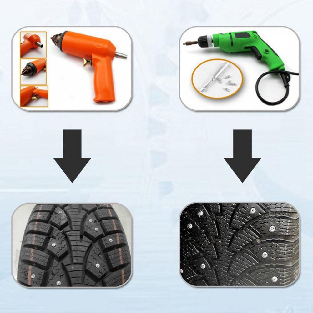 100pcs 12mm Tire Anti slip Screw Stud Wheel Tyre Lugs font b Snow b font Nail
