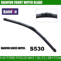 RAINFUN Dedicated Car Wiper Blade For 12 Ford FOCUS 1 8L Natural Rubber Car Wiper Auto