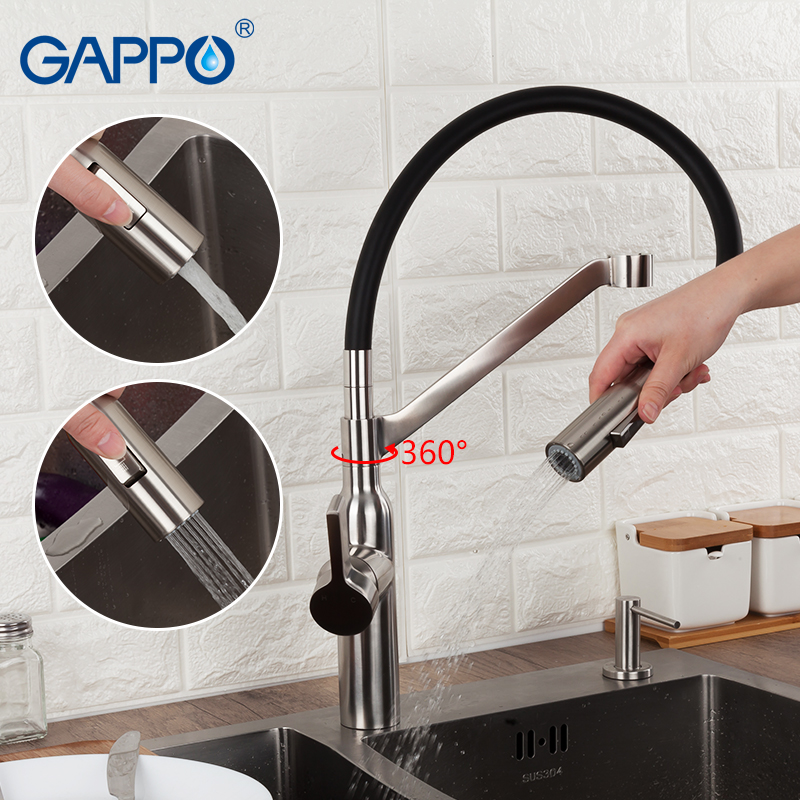 GAPPO Kitchen Faucet kitchen mixer water sink faucet flexible kitchen tap single handle griferia torneira para cozinha
