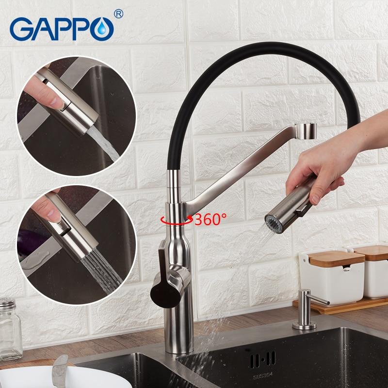GAPPO Kitchen Faucet Kitchen Mixer Water Sink Faucet Flexible Kitchen Tap Single Handle Griferia Torneira Para Cozinha
