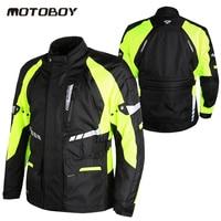 New Motoboy Riding Tribe Reflect Racing Winter Pants Motorcycle Waterproof Jackets Off Road Motorcycle Racing Warm