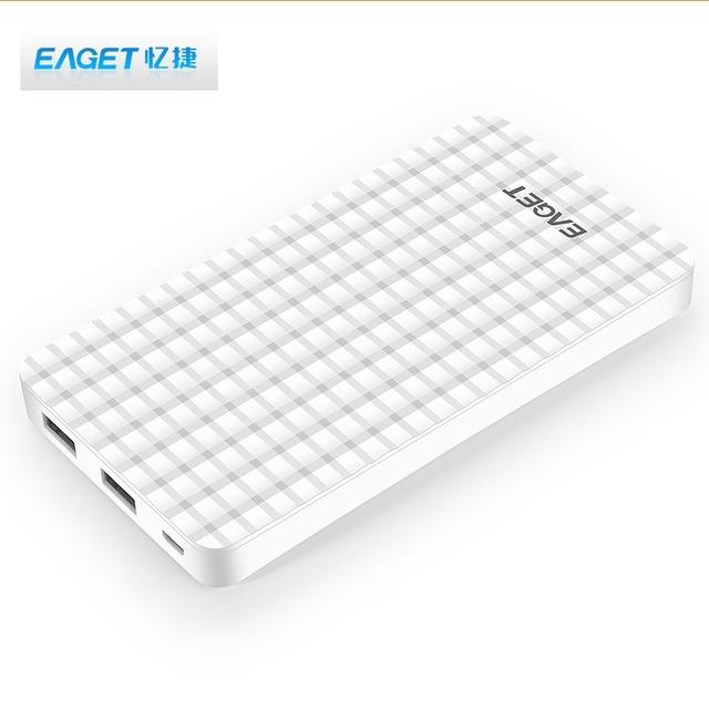 Big Promoção!!! eaget c6 10000 mah power bank powerbank carregador portátil banco do poder carregador de bateria externa para xiaomi