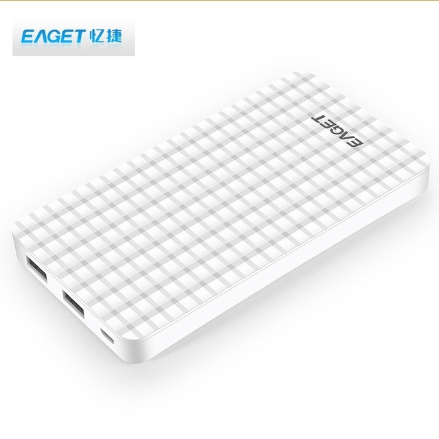 Big Promotion !!! EAGET C6 10000mAh Power Bank Portable Charger Powerbank External Battery Charger For Xiaomi Power Bank