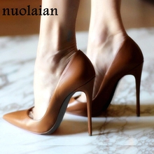 12CM Brand Ladies High Heel Shoes Woman Wedding Shoes Summer Thin High Heels Womens Platform Pumps Women Shoes Dress