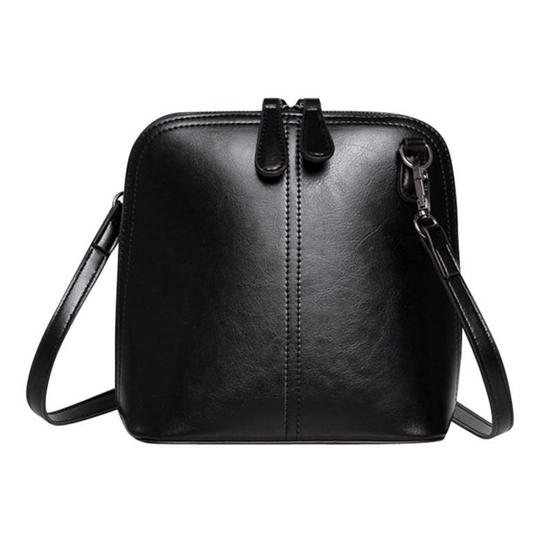 Womens Fashion High Quality Cow Leather Small Crossbody Shell Bag Women Fashion Shoulder Bag