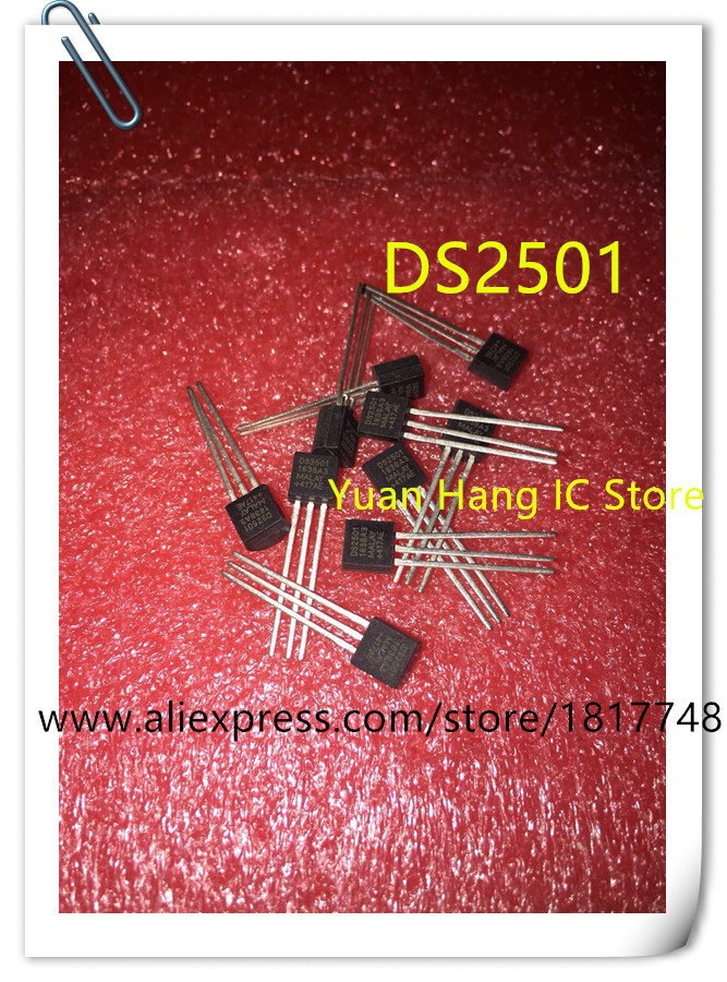 10PCS/LOT DS2501 2501 TO-92 90W Decoder IC Chip New Original