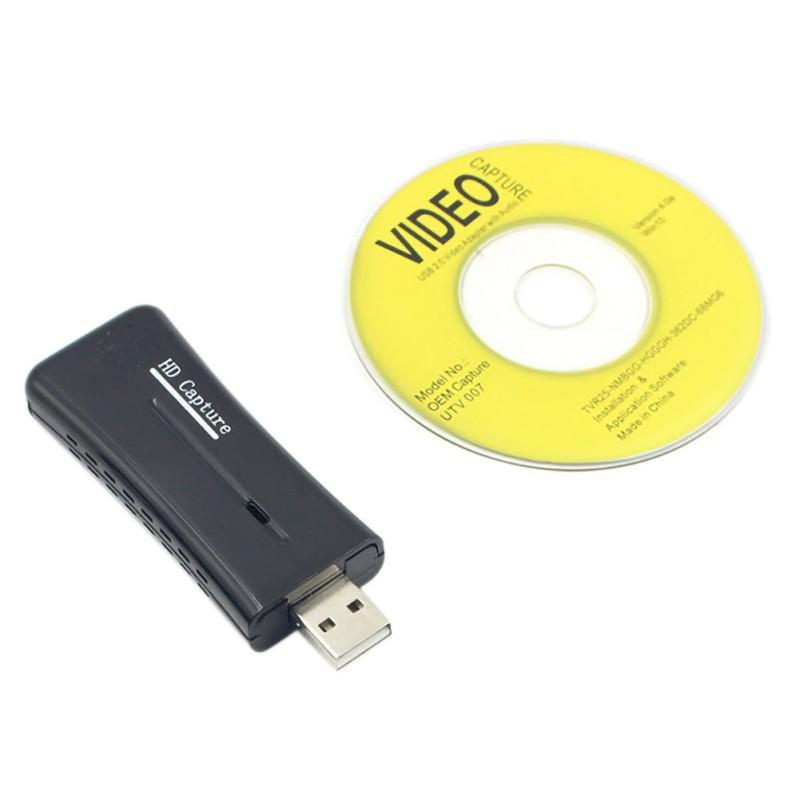 Portable Mini USB 2.0 Port Video Capture Card HD 1 Way HDMI 1080P Video Capture Card For Windows XP Computer