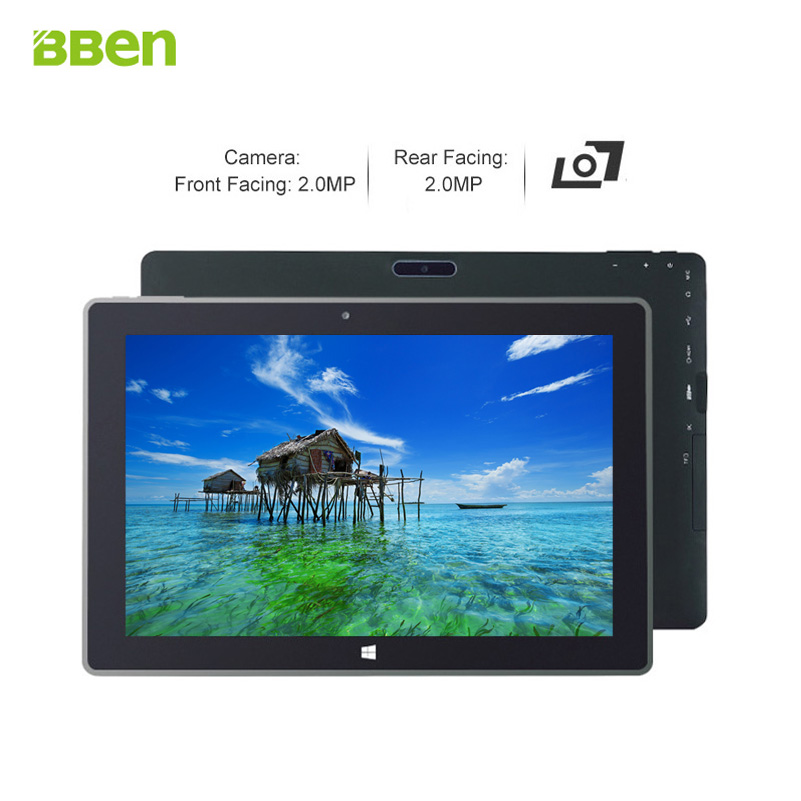 Bben Z10 Tablet pcs 2 in 1 10 1inch with intel z8350 quad cores cpu 4GB