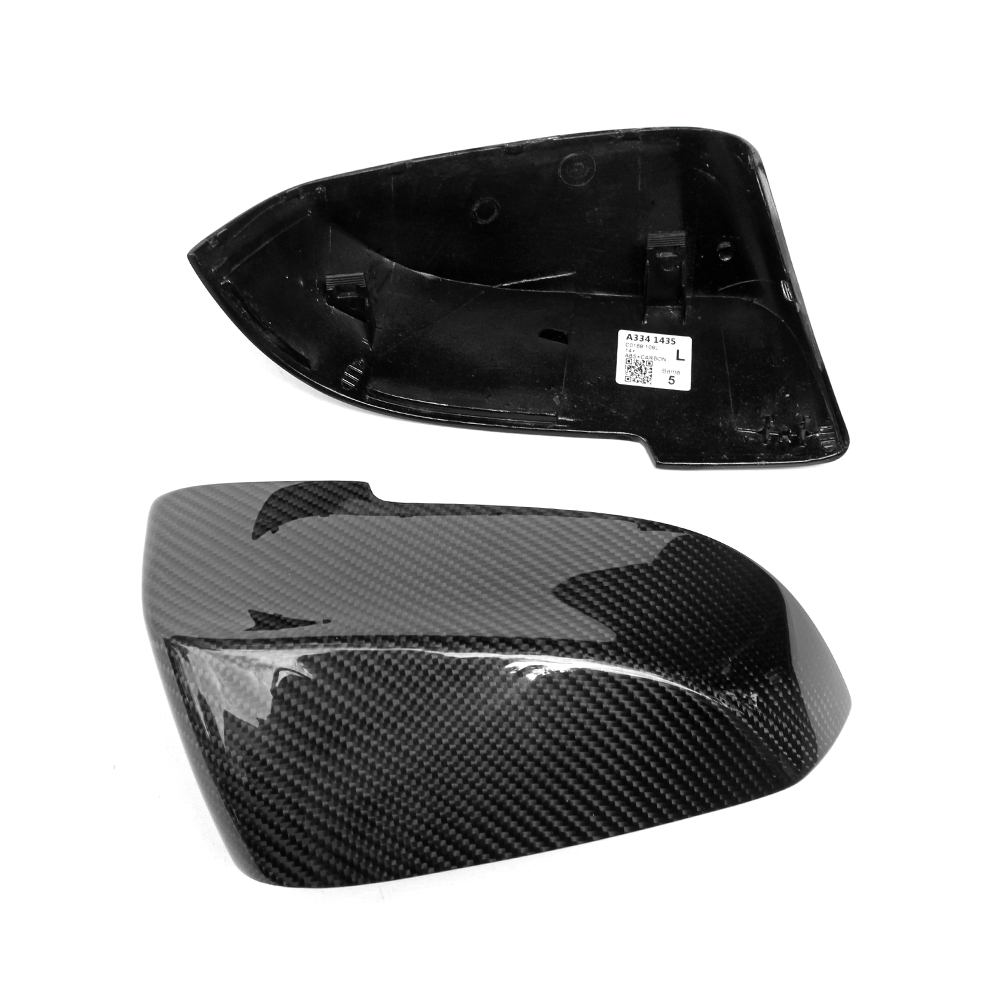 F10 F30 Carbon Fiber Mirror Cover For BMW 1 to 7 Series F22 GT F07 F34 F31 F32 F33 F06 2010 - IN Replacement Normal Mirror replacement car styling carbon fiber abs rear side door mirror cover for bmw 5 series f10 gt f07 lci 2014 523i 528i 535i