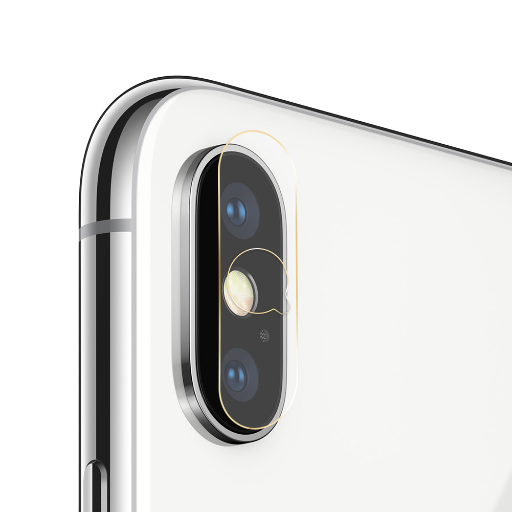 Camera Lens Tempered Glass Screen Protector For iPhone X 8 7 Plus Transparent Back Lens Film