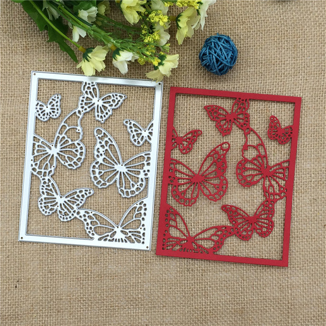 Flying Butterfly Metal Embossing Cutting Dies Stencils Scrapbooking Photo Album DIY Decorative Craft