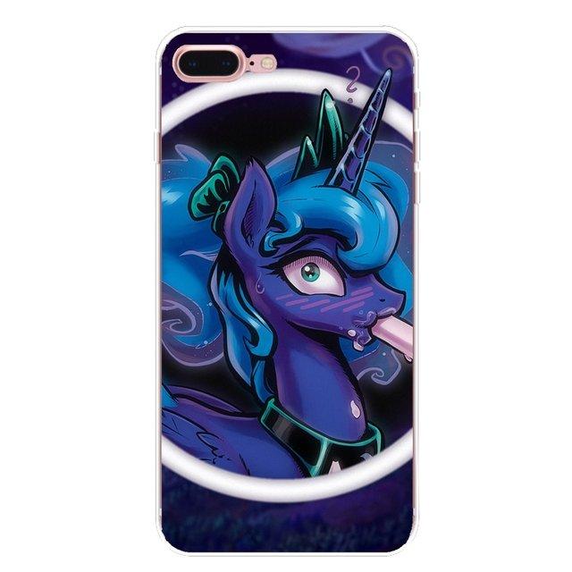 cartoon my little pony Princess Luna Cover For iPhone XS Max XR X 4 4S 5 5S 5C SE 6 6S 7 8 Plus Samsung Galaxy J1 J3 J5 J7 A3 A5